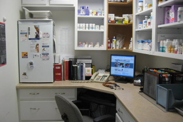 Pharmacy Area.